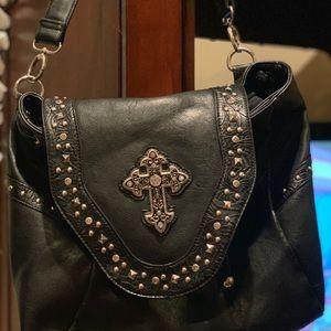 Buckle shoulder bag and backpack